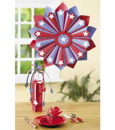 Ready for some red, white & blue decor! #summer