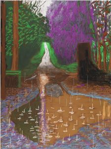 david hockney arrival of spring - Поиск в Google