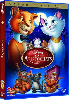 The Aristocats (Two-Disc Blu-ray/DVD Special Edition in Blu-ray Packaging) (Walt Disney) Walt Disney, Disney Pixar, Disney Films, Disney Characters, Disney Animation, Disney Channel, Disney Aristocats, Paul Winchell, Animation Movies