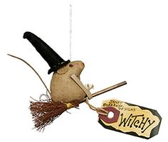 witchy mouse ornament by primitives by kathy - Primitives By Kathy Halloween
