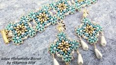 BEAD TUTORIAL Caltagirone Parure wtih by LineeAlchemiche on Etsy