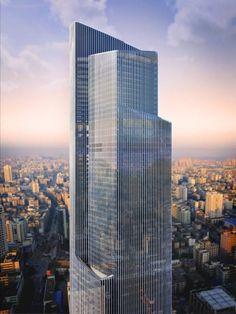 skyscrapers...