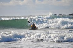 Beachpebbles: Sea Kayak Surfing Tofino
