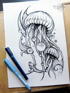 Tattoo sketch, dotwork.desing. by Alisa Gornostaeva, via Behance