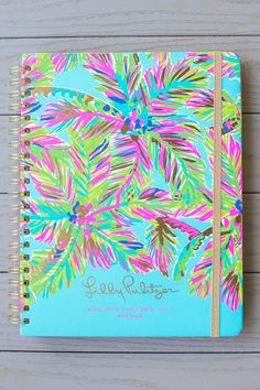 Lilly Pulitzer Island Time 17 Month Jumbo Agenda at reddressboutique.com