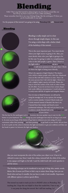 Blending Tutorial by Hildi.deviantart.com on @deviantART ✤ || CHARACTER DESIGN REFERENCES | キャラクターデザイン | çizgi film • Find more at https://www.facebook.com/CharacterDesignReferences http://www.pinterest.com/characterdesigh if you're looking for: #color #theory #contrast #manga #soft #cell #shading #animation #how #to #draw #paint #drawing #tutorial #lesson #balance #sketch #colors #digital #painting #process #line #art #tips #coloring #blending || ✤