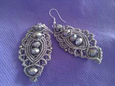 Orecchini color argento
