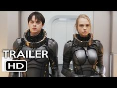 Valerian and the City of a Thousand Planets Official Trailer #1 (2017) Cara Delevingne Movie HD - YouTube