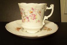 Carl Tielsch  cup saucer 1875-1900 Teacup, Cup And Saucer, Porcelain, Pottery, Tableware, Collection, Ceramica, Tea Cup, Porcelain Ceramics