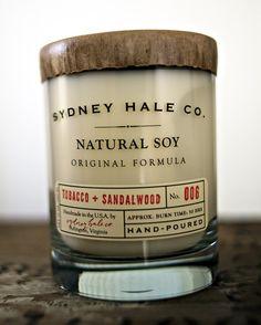 sydney hale tobacco + sandalwood candle. or any fragrance, for that matter.