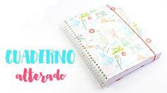 TUTORIAL SCRAPBOOKING - Cuaderno alterado