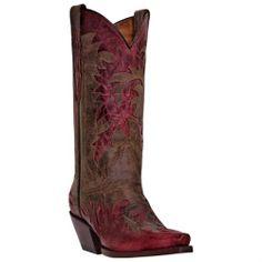Dan Post Western Boots Womens Amy Overlay   DP3509