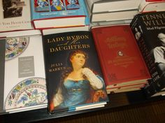 Lady Byron and Her Daughters in Waterstones, Piccadilly