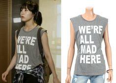 "Jung Eun-Ji in ""Trot Lovers"" Episode 1.  Le Shop Sleeveless T-Shirt #Kdrama #TrotLovers #JungEunJi #정은지"