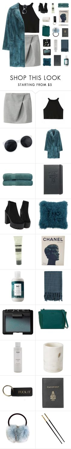 """""""fiorella"""" by ughtara ❤ liked on Polyvore featuring 3.1 Phillip Lim, Marc Jacobs, Superior, Aesop, Chanel, R+Co, Surya, NARS Cosmetics, mywalit and Ouai"""