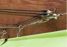 eBook for Slide-on Wire Hung Canopy Fabrication Diy Canopy, Pergola Canopy, Pergola Patio, Backyard Patio, Gazebo, Backyard Shade, Patio Shade, Pergola Shade, Retractable Shade