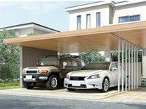 カーポート 駐車スペースにあると便利なアイテム12 カーポート ガレージのデザイン 玄関アプローチ モダン