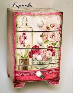 decoupage para tus muebles: ¡ideas que inspiran! | decoupage ... - Decoupage En Muebles Tutorial