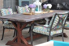 What to do when you cannot budget $4395 for your outdoor table... Buil… :: Hometalk