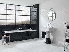 Combinaciones con productos cerámicos #tile #bathroom #bedroom http://anticcolonial.com/combinaciones-con-productos-ceramicos/