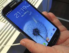 Samsung Galaxy SIII mantido sob os panos até o último momento (Foto: Divulgação)