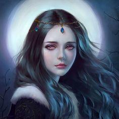 Moon's daughter