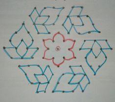 11-6 interlaced dots Indian Rangoli Designs, Rangoli Designs Latest, Simple Rangoli Designs Images, Rangoli Designs Flower, Rangoli Border Designs, Rangoli Patterns, Henna Designs Easy, Rangoli Designs With Dots, New Mehndi Designs