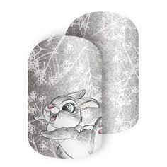 Thumper - Thumper' and his iconic foot-thumping pose give this grey vintage-inspired wrap is a timeless classic feel. #DISNEYTHUMPER