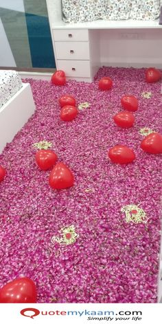 Best Romantic Room Decoration ideas for an unforgettable evening. Surprise your partner with our exciting romantic room decor & set up just for you two. Romantic Room Decoration, Romantic Bedroom Decor, Balloon Decorations, Birthday Decorations, Price Calculator, Rose Petals, Balloons, Just For You, Party