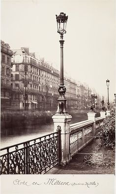 """Charles Marville, (French, 1813–1879). Arts et Métiers (Ancien Modèle), 1864. The Metropolitan Museum of Art, New York. Purchase, Alfred Stieglitz Society Gifts, 2007 (2007.167) 