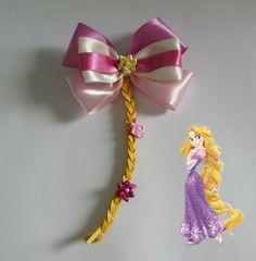 Laço Grande Cetim Princesa Rapunzel