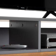 Lowboard TIBOR Kiefer massiv in grau - mobilia24 Kiefer, Flat Screen, Loft, Storage, Furniture, Home Decor, Customer Support, Nordic Style, Tv Cupboard