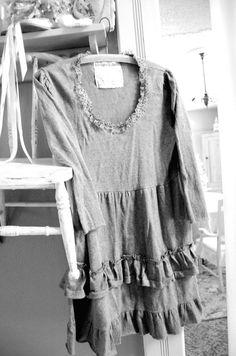 Sweater Tunic Top Merino Wool Womens Clothing by OfLinenandLace, $48.50