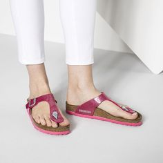 BIRKENSTOCK Gizeh Birko-Flor in all sizes ✓ Buy directly from the manufacturer online ✓ All fashion trends from Birkenstock All Fashion, Fashion Trends, Birkenstock Sandals, Fitness, How To Wear, Magic, Shoes, Collections, Dreams