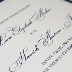 elegant weddig invitations