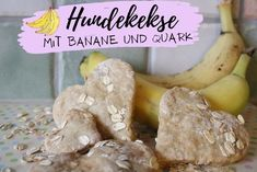 Hundekekse mit Banane und Quark | miDoggy Community Stuffed Mushrooms, Vegetables, Diy, Desserts, Banana, Dog Biscuit Recipes, Birthday Cakes For Dogs, Best Food For Dogs, Ice Cream For Dogs