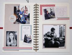 Family Diary scrappé par Noussa, avec le kit de Démarrage Family Diary de Swirlcards