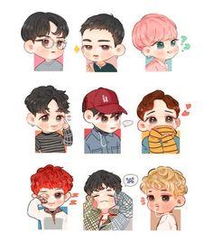 I lov lucky one fanart exo chen, exo kokobop, exo kai, baekhyun fanart, kpo Chibi Exo, Chibi Manga, Naruto Chibi, Kpop Exo, Exo Kokobop, Exo Chen, Exo Kai, Baekhyun Fanart, Kpop Fanart