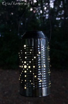 Tin Can Solar Lantern Tutorial   Hometalk