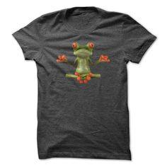 Zen frog T-Shirts, Hoodies. GET IT ==► https://www.sunfrog.com/Fitness/Zen-frog-.html?id=41382