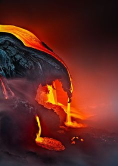 Lava Drop by samuel FERON on 500px wallpaper