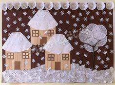 Kids Crafts, Winter Crafts For Kids, Diy And Crafts, Arts And Crafts, Christmas Activities, Winter Activities, Art Activities, Painting For Kids, Art For Kids