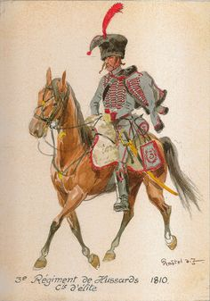 French; 3rd Hussars, Elite Company, 1810