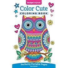 Color Cute Coloring Book: Perfectly Portable Pages (On-the-Go Coloring Book) (Design Originals) Extra-Thick High-Quality Perforated Pages; Convenient Size is Perfect to Take Along Wherever You Go Paperback – October Farm Animal Coloring Pages, Printable Coloring Pages, Coloring Pages For Kids, Adult Coloring, Coloring Books, Colouring, Free Thanksgiving Coloring Pages, Wherever You Go, Notebook Doodles
