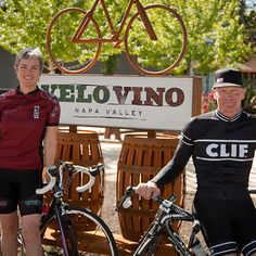 Clif Family  The Clif family is becoming as well known for wine as for energy bars. Rent a road bike ($110) from the Velo Vino tasting room and do the 24-mile Cold Springs Loop, past Clif's organic farm and vineyards, with espresso before and a wine tasting after. cliffamilywinery.com