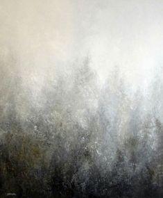 Obrazy abstrakcyjne Sylwia Michalska Mglisty 120/100cm Abstract paintingsby Sylwia Michalska Www.artpracownia.wordpress.com