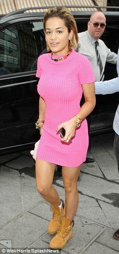 Rita Ora in Natural Beauty