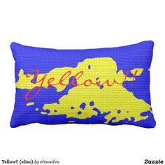 Yellow!! (eliso) almohada