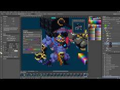 ▶ Duelyst - Concept art to Pixel art - YouTube