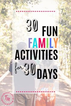 Are you currently stuck at home with your toddlers and older kids during the quarantine? Looking for some boredom busters? Here are 30 ideas for fun, easy and simple activities you can do at home as a family. Both indoor and outdoor activities that can be done for free (or cheap) at your own home. #socialdistancing #boredombuster #familyfun